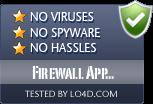 Firewall App Blocker is free of viruses and malware.