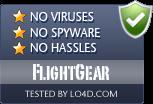 FlightGear is free of viruses and malware.