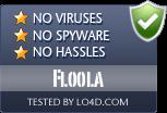 Floola is free of viruses and malware.