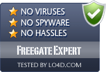 Freegate Expert is free of viruses and malware.
