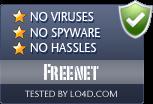 Freenet is free of viruses and malware.