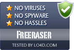 Freeraser is free of viruses and malware.