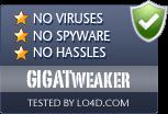 GIGATweaker is free of viruses and malware.