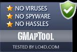 GMapTool is free of viruses and malware.