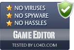 Game Editor is free of viruses and malware.
