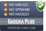Garena Plus is free of viruses and malware.