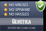 Genetica is free of viruses and malware.