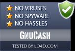 GnuCash is free of viruses and malware.