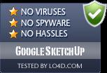 Google SketchUp is free of viruses and malware.