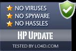 HP Update is free of viruses and malware.