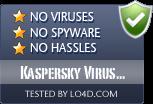 Kaspersky Virus Removal Tool is free of viruses and malware.