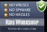 Kids Workshop is free of viruses and malware.