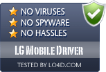 LG Mobile Driver is free of viruses and malware.