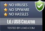 LiLi USB Creator is free of viruses and malware.