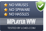 MPlayer WW is free of viruses and malware.