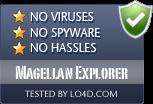 Magellan Explorer is free of viruses and malware.