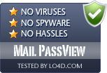 Mail PassView is free of viruses and malware.