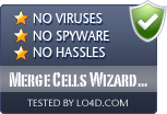 Merge Cells Wizard for Excel is free of viruses and malware.