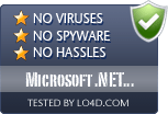 Microsoft .NET Framework 4 is free of viruses and malware.