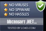 Microsoft .NET Framework Repair Tool is free of viruses and malware.
