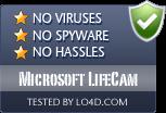 Microsoft LifeCam is free of viruses and malware.