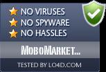 MoboMarket (Moborobo) is free of viruses and malware.