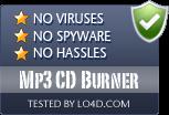 Mp3 CD Burner is free of viruses and malware.