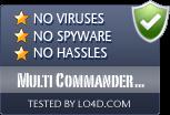 Multi Commander 64-bit is free of viruses and malware.