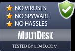 MultiDesk is free of viruses and malware.