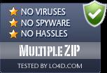 Multiple ZIP is free of viruses and malware.