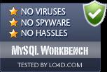 MySQL Workbench is free of viruses and malware.