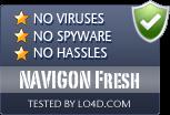 NAVIGON Fresh is free of viruses and malware.