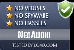 NeoAudio is free of viruses and malware.