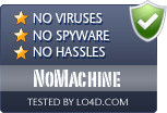 NoMachine is free of viruses and malware.