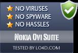 Nokia Ovi Suite is free of viruses and malware.