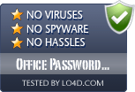 Office Password Recovery Toolbox is free of viruses and malware.