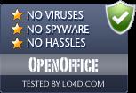 OpenOffice is free of viruses and malware.