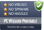PC Wizard Portable is free of viruses and malware.