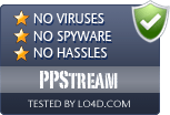 PPStream is free of viruses and malware.