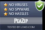 PeaZip is free of viruses and malware.