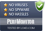 PerfMonitor is free of viruses and malware.