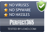 Perfect365 is free of viruses and malware.