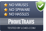 PhoneTrans is free of viruses and malware.
