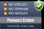 Pinnacle Studio is free of viruses and malware.