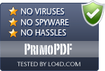 PrimoPDF is free of viruses and malware.