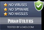 Puran Utilities is free of viruses and malware.
