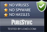 PureSync is free of viruses and malware.