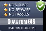 Quantum GIS is free of viruses and malware.