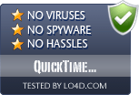 QuickTime Alternative is free of viruses and malware.