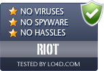RIOT is free of viruses and malware.